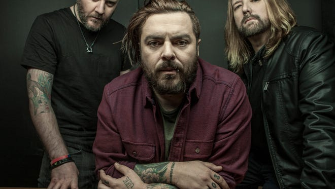 Seether performs at Concrete Street Amphitheater with Letters from the Fire and Big Story on Monday, Aug. 21.