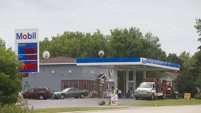 An armed robbery at the Highway 151 Mobile gas station, N5789 County D, occured around 11:30 PM Thursday night. Friday July 24, 2015.