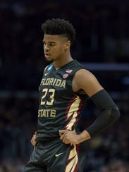 Freshman guard M.J. Walker locks down in Florida State's