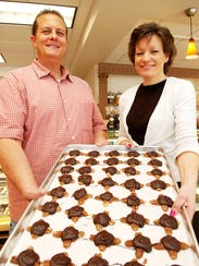 Allo! Chocolat, Co-Owners, Roger and Carrie Igielski,