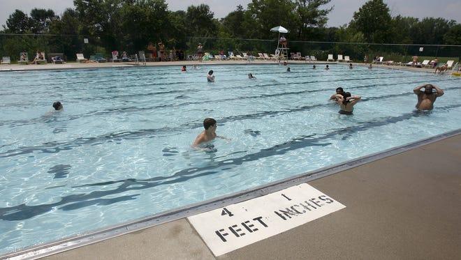 The E.P. Tom Sawyer Park pool.
