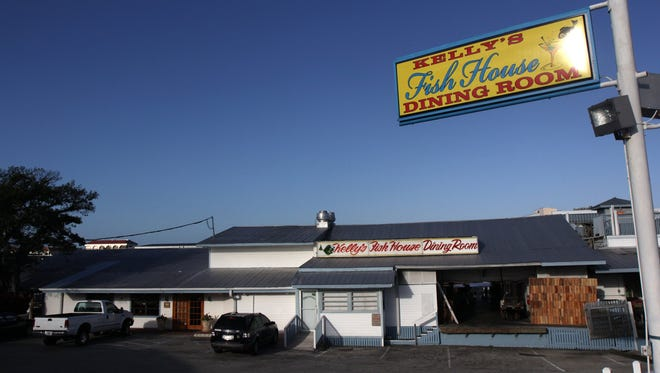 This file photo shows the exterior of Kelly's Fish House Dining Room. At 1302 Fifth Ave. S., just south of the Gordon River Bridge, it is the oldest continuously run restaurant in Naples.