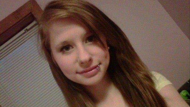 Nichole Cable is seen in an undated photo provided by the Penobscot County Sheriff's Department. The state medical examiner's office says the 15-year-old girl allegedly lured to her death by 20-year-old Kyle Dube using a phony Facebook profile died from asphyxiation.