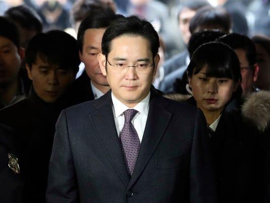 AP SOUTH KOREA POLITICS SAMSUMG I FILE KOR