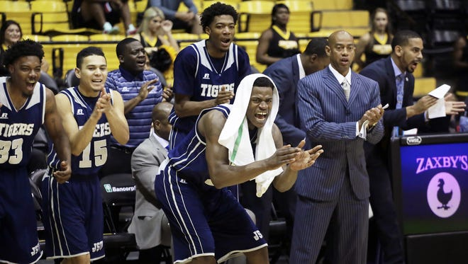 Jackson State players and head coach Wayne Brent will face another tough opponent when they play No. 20 Baylor.