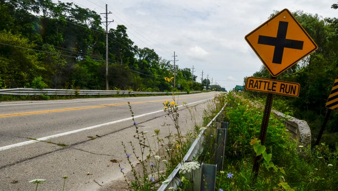The Gratiot Road Bridge over the Rattle Run Creek in St. Clair Township will be replaced between Aug. 7 and Sept. 20.