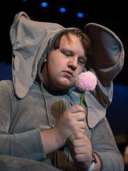 Horton (Douglas Walters) is a sad pachyderm.