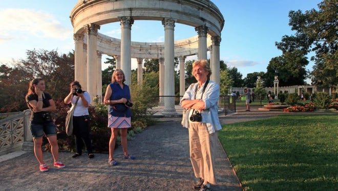 Readers join lohud photo staff on the first #lohudonlocation photo meet-up at Untermyer Park in Yonkers Thursday, Aug. 7, 2014.