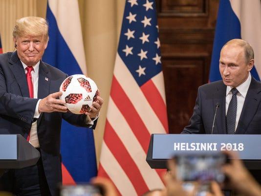 President Donald Trump President Vladimir Putin