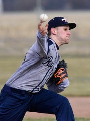 Lakota's Jake Hoffman had three RBI and notched the win in relief Monday on the mound.