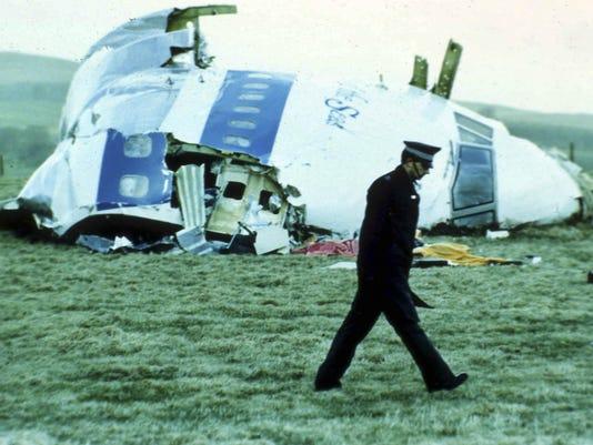 Britain Lockerbie Anniversary