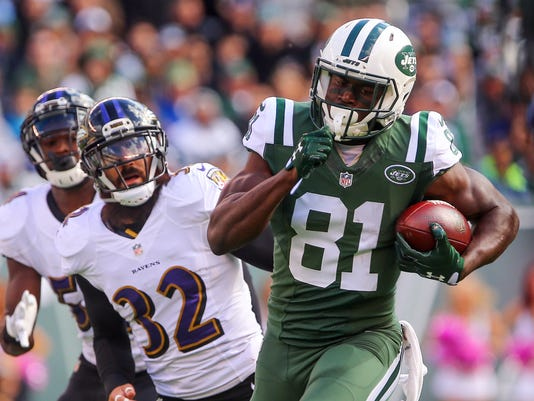 NFL: Baltimore Ravens at New York Jets