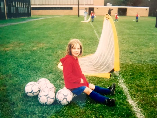Maddie Hart of Cranford has been playing soccer since