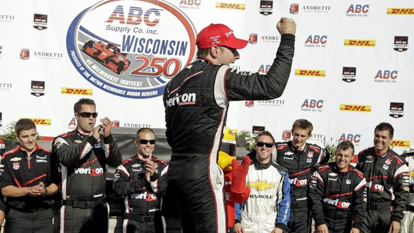 Will Power won this year's race at Milwaukee.