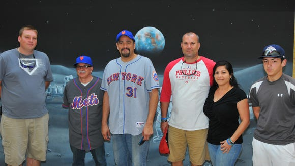News columnist John A.  Torres and I took a few lucky subscribers to the Nationals spring training game against the Mets earlier this month and we will do so again next week. From left, Andrew Hitchner of Cocoa Beach, me, Torres, Allen and Brenda Civita and Josh Ford.