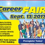 Pre-register for career fair coming up Sept. 13