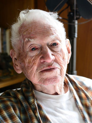 Mervin Rose, 95, of Port Clinton survived the D-Day invasion on June 6, 1944. He and 156,000 Allied troops landed on the beach at Normandy, France, considered a turning point of World War II in Europe. Rose served in the U.S. Army Signal Corps, maintaining radios, transmitting and receiving code.