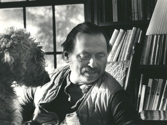 Jim Harrison, (shown in 1984) American author known
