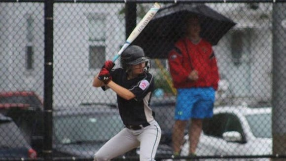 North Rockland's Shannon Knipl prepares to hit during