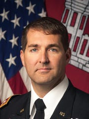 Lt. Col. Stephen F. Murphy took command of the U.S. Army Corps of Engineers Nashville District during a change of command ceremony today at the Tennessee National Guard Armory. He becomes the 64th commander in the district's 127 year history.