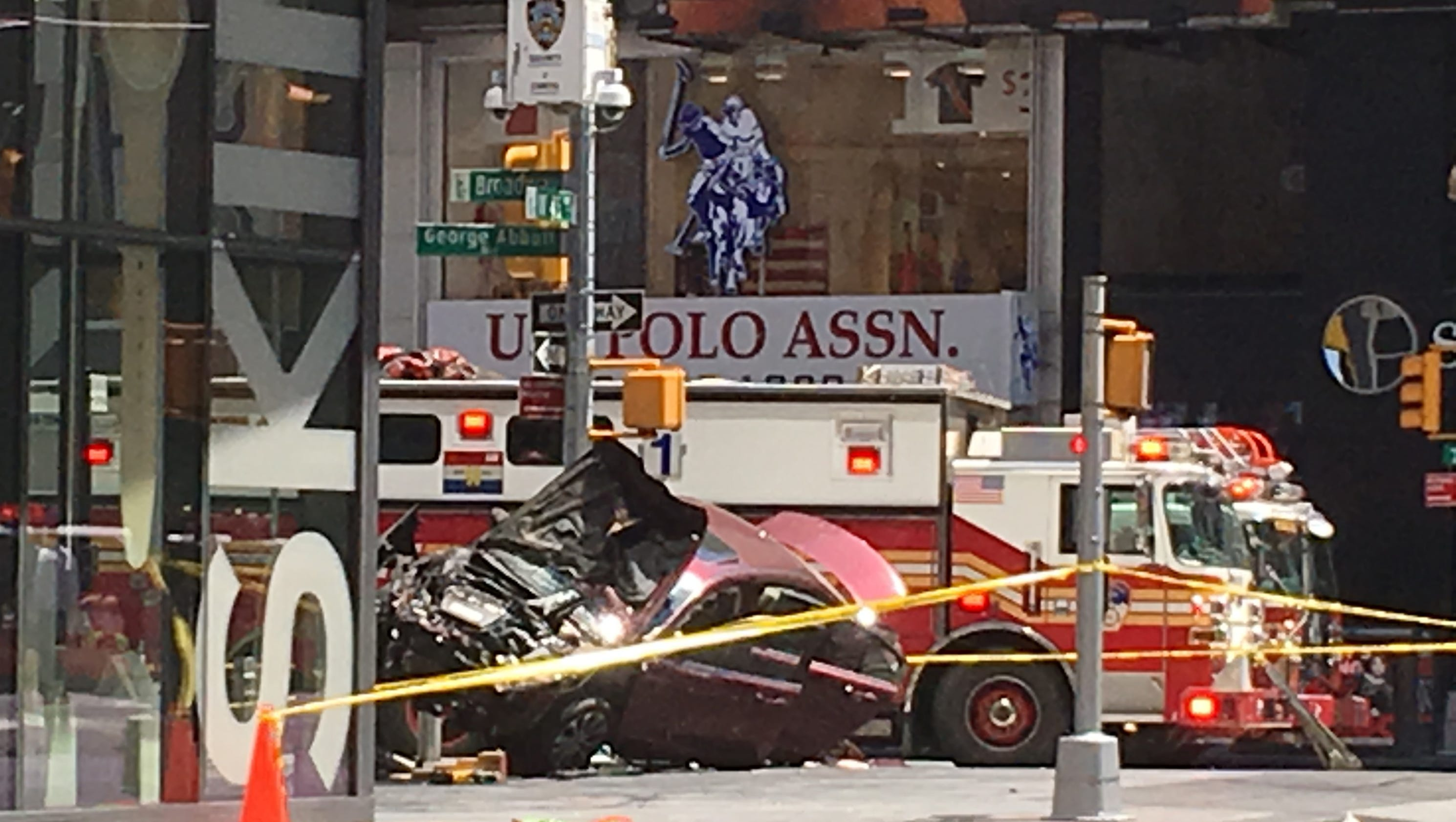 Times Square Car Accident Driver S Name