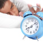 The National Sleep Foundation (NSF) recommends that teens get 81/2 to 91/4 hours of sleep every night of the week.