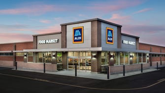 This is what the new Aldi's store planned for Patterson Boulevard in  Fairfield will look like.