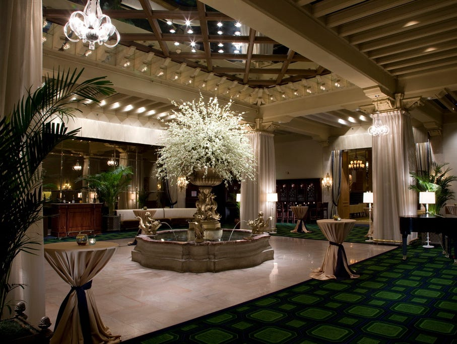 The Drake Hotel in Chicago has hosted presidents and world leaders.