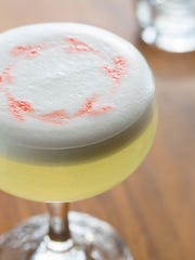 A Pisco Sour from Ox and Stone.