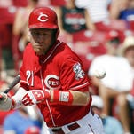 Reds middle too much for Brewers