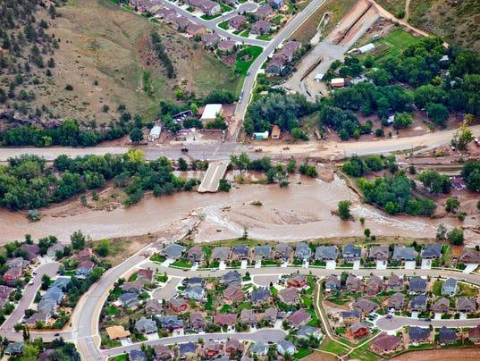 AP APTOPIX Colorado Flooding