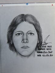 A State Police composite sketch done on Oct., 20, 1980.