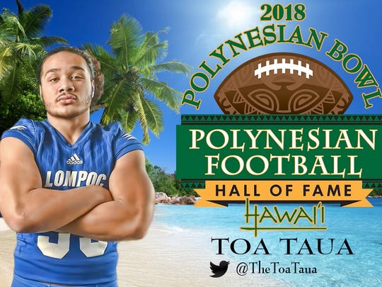 Toa Taua will play for Nevada next season.