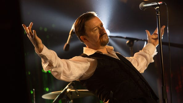 Ricky Gervais as David Brent in a scene from the movie