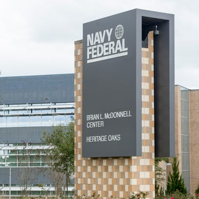 Navy Federal Credit Union campus on Nine Mile Road