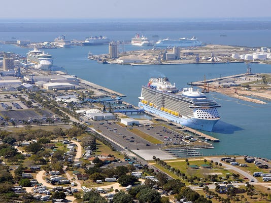 Six cruise ships in port for the first time