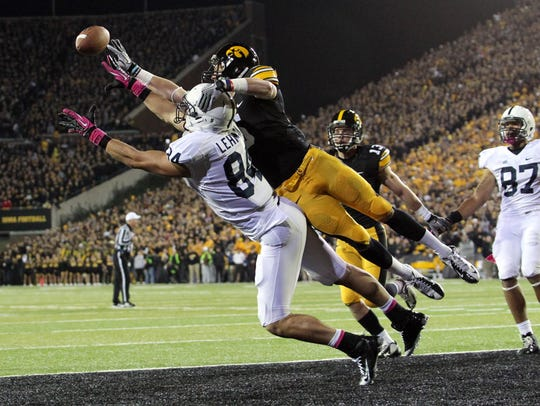 The last time Iowa and Penn State met at Kinnick Stadium,