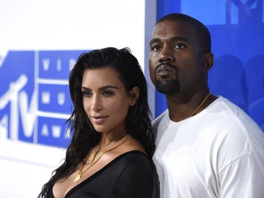 Kim Kardashian West,Kanye West