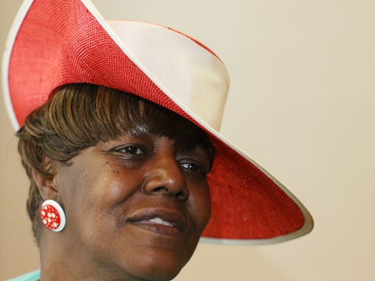 Patricia Reed James attends New St. James Baptist Church