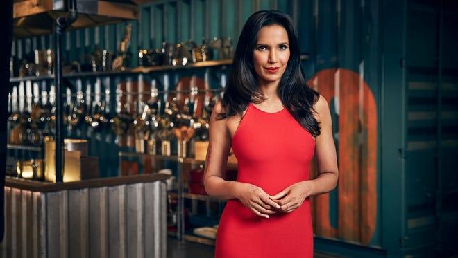 """Padma Lakshmi of Bravo's """"Top Chef"""" season 15."""