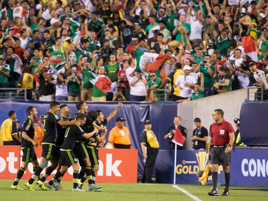 USP SOCCER: GOLD CUP-FINAL-JAMAICA AT MEXICO S SOC USA PA