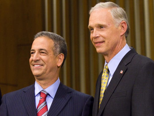 Feingold And Johnson Debate In Milwaukee
