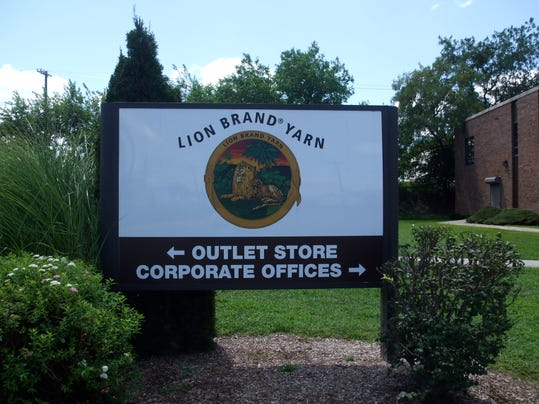 Lion Brand HQ sign