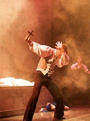 """Scenes from Roxey Ballet's """"Dracula,"""" which will run"""