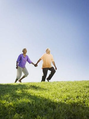 Healthy active seniors
