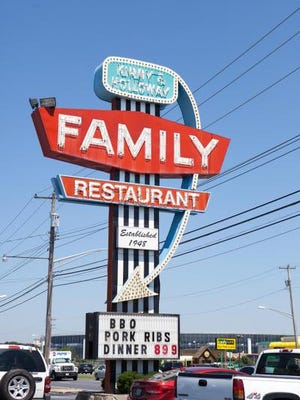 Kirby & Holloway Family Restaurant in Dover.