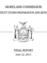 The 2013 final report by the Moreland Commission raised