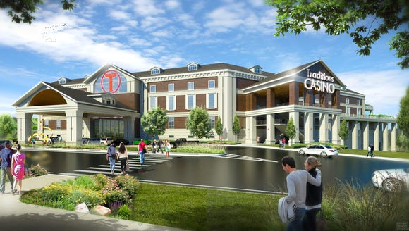 An artist's rendering of the proposed Traditions Resort