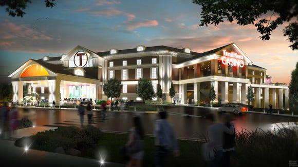 An artist's rendering of Traditions Resort & Casino,