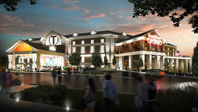 An artist's rendering of Traditions Resort & Casino, in the Town of Union.